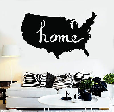 Vinyl Wall Decal Map Of World Compass Travel Globe Earth