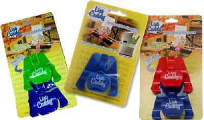 2 Pack List Caddy Holds List & Coupons Clips to Shopping Carts Assorted Colors