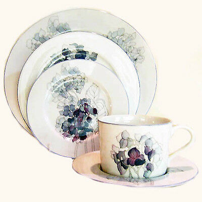 HYDRANGEA by Block Spal 5 Piece Place Setting NEW NEVER USED made in Portugal