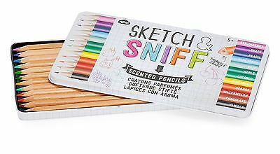NPW Sketch and Sniff Scented Fruit Pencils