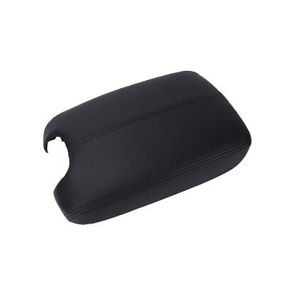For Honda Accord 2008-2012 Leather Console Lid Armrest Cover US Stock Black