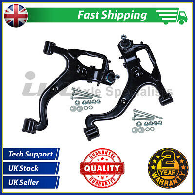 Land Rover Discovery 3 Complete Lower Front Arm Kit  + Fitting Kit (wishbone)