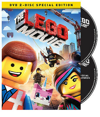 The LEGO Movie DVD: 2-Disc Special edition ( DVD + UltraViolet Combo Pack) NEW