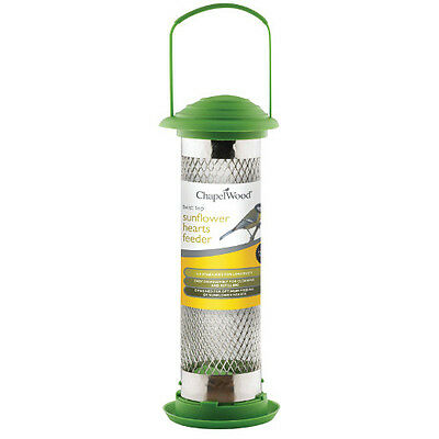 New Chapelwood Twist Top Sunflower Hearts Feeder 8 inch