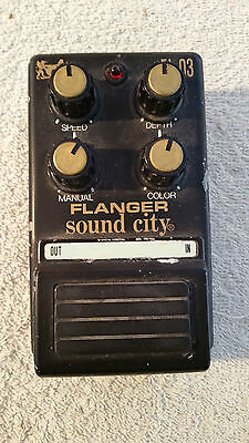 Sound City Flanger guitar Pedal (Collectable Classic)
