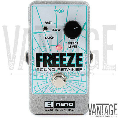 Electro-Harmonix Freeze Sustain & Sound Retainer