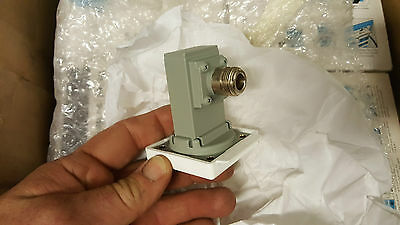 One (1) New Unused SPQ-9B Waveguide to Coax 90 Degree Adapter RF Microwave