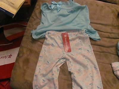 American Girl Grace Thomas/'s Pajamas for Child Size XL  matches Doll New 18-20