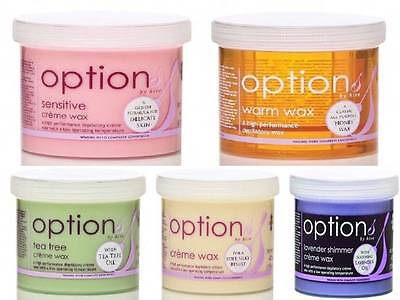 Hive Options CREME Wax A Gentle Formula for all skin tyes special offer  425g