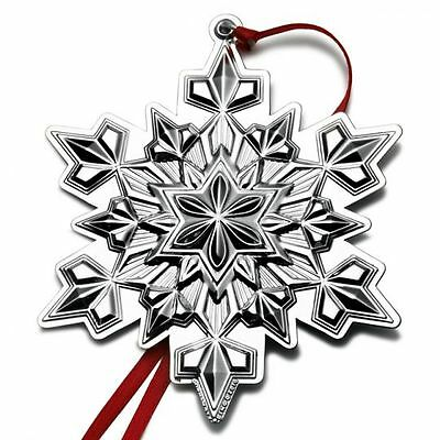 2010 Gorham Snowflake Sterling Christmas Ornament 41st Edition