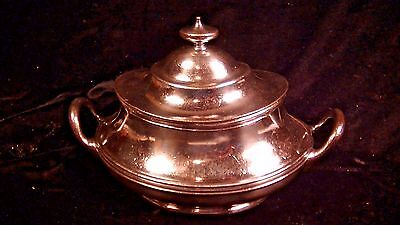 Northern Pacific Railway Silver Tureen, Railroad Dining Car,  Lot#1515