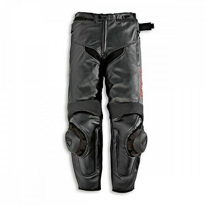 NEW DUCATI Speed Leather Pants Black MENS SIZE 50