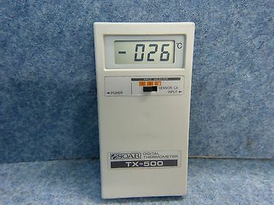 SOAR DIGITAL THERMOMETER TX-500 - 50 °C to 1200 °C