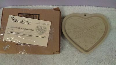 Pampered Chef Anniversary Heart Cookie Mold
