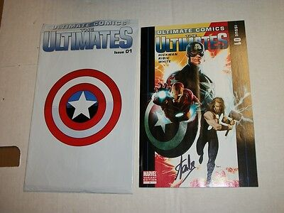 Marvel ULTIMATES #1 Signed by STAN LEE! 1 of only 100 Copies!