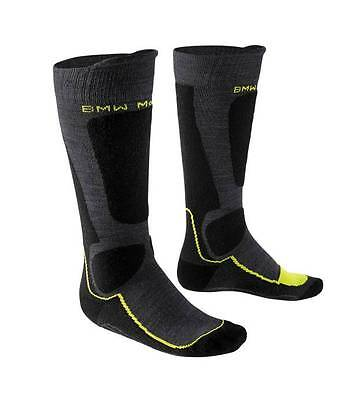 NEW BMW Functional Motorcycle Winter Socks US MENS 11.5-14/EU 45-48 Anthracite