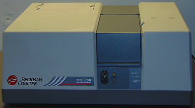Beckman Coulter DU-800 UV/VIS Spectrophotometer with Dell Computer & Software