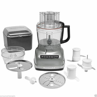 KitchenAid 11-Cup Food Processor with ExactSlice™ Contour Silver (MSRP $249.99)
