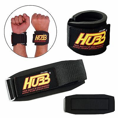 Weight Lifting Wrist Straps Wraps Gym Fitness Bandage Gel Support Wraps Straps