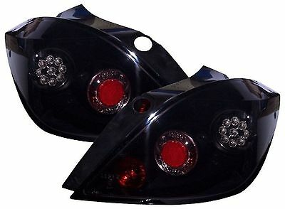 Led Black Rear Tail Lights - Vauxhall Astra H Mk5 5 Door (04-09)