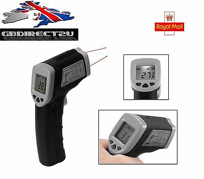 Digital Infrared Thermometer Handheld Laser Gun Non-Contact IR LCD NEW 2017 UK