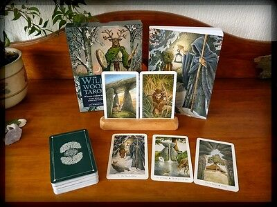 The Wildwood Tarot Deck Cards and guide book /New-Sealed/UK-seller.