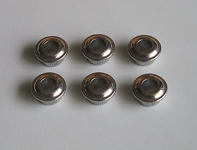 6x 10mm Conversion Adaptor Bushings for 9mm vintage Tuners Machine Heads