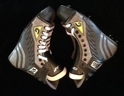 New Box Of GRAF ICE HOCKEY SKATES BOOTS (ONLY) BOOT SUPRA G35 TOP LIGHT adult 6