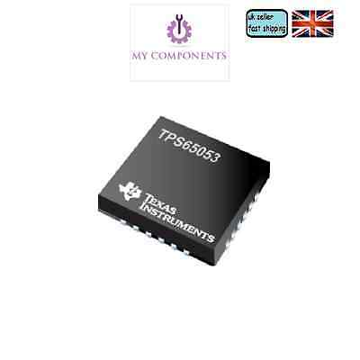 TPS65053 - 5-Channel Power Management IC (PMIC) with two step down converters