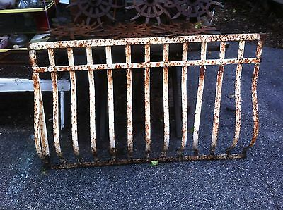 Antique Cast Iron Basement Window Cover Grate Bicycle Rack