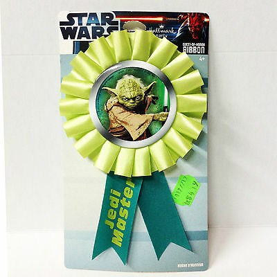 Star Wars Jedi Master Guest Of Honor Party Ribbon NEW / RARE