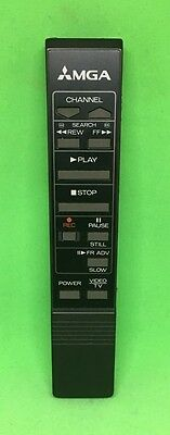 Vintage MGA Video/TV Mitsubishi Electric Television Remote Control Replacement