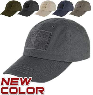 Condor Flex Tactical Cap /(Large//Extra Large, Graphite/) with USA