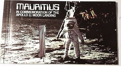 Mauritius In Commemoration Of The Apollo Landing Booklet ...worldwide Stamps