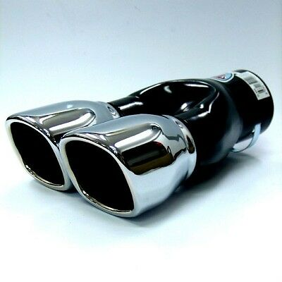 Sport Double Exhaust end pipe for Peugeot 106 206 306 308 406 309 407 207