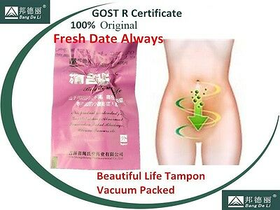 20pcs Natural Herbal Womb Vagina Cleansing Healing Tightening Detox Pearl Tampon