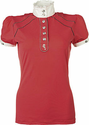 LADIES COMPETITION SHIRT-VERONA-by HKM-(4085) RRP $99.95