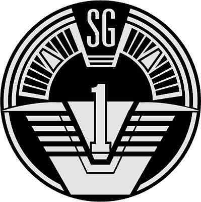 "Stargate SG-1 Movie Bumper Sticker 5"" x 5"""