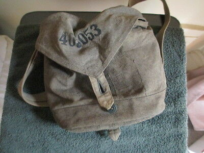 Vintage MILITARY Canvas Map & Documents Bag / Stylish Look / Many Uses!