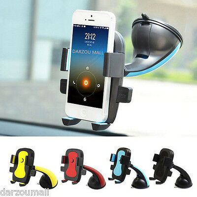 Car Windshield Suction Cup Mount Rotating Stand Bracket Holder For Phone GPS