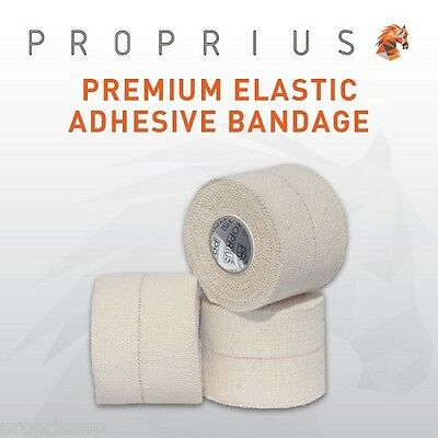 EAB Elastic Adhesive Bandage Sports,Rugby,Shoulder,Vet Strapping Tape 12x50mm