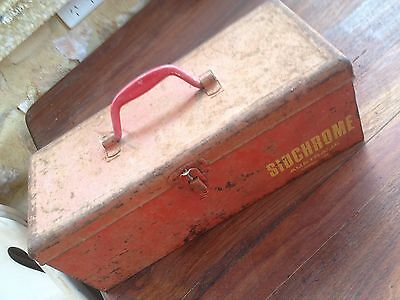 SIDCHROME SMALL TOOL BOX - used but ready for more