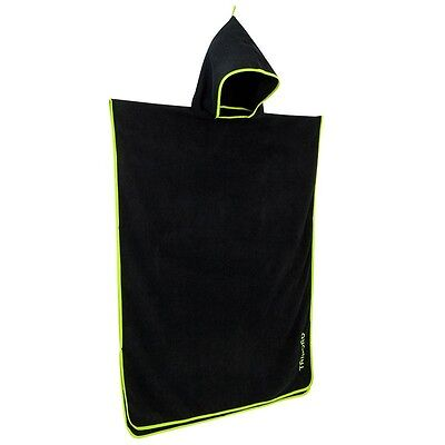 Tribord Wetsuit Toweling Changing Robe Poncho For Surf Board Kayak Longboard Sup