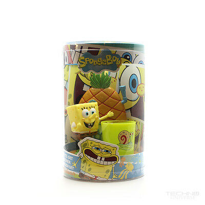 Nickelodeon Spongebob SquarePants Great Smile Set Toothbrush Holder