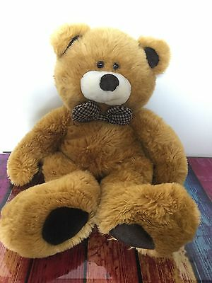 Chad Valley Large 22 Inch Golden Brown Teddy Bear Soft / Plush Toy