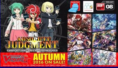 Cardfight!! Vanguard G-BT08 Pale Moon common set (4 of each card)