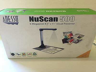 Adesso NuScan 500 5-Megapixel Visual Presenter NUSCAN 500