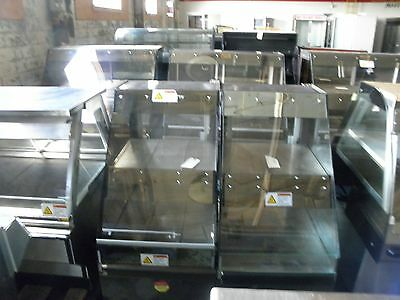 """Alto Shaam Cc-24 24"""" Glass Front Hot Food Chicken Heat Hold Retail Display Case"""