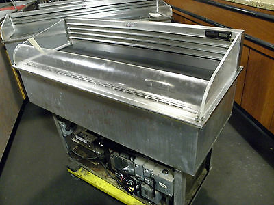 "Asdi Caps45 45"" Drop In Cold Pan Refrigerated Salad Oilve Buffet Bar"
