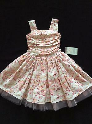 Bnwt Persnickety -Pink Corset Dress Size 4 (Suit Size 3-4)